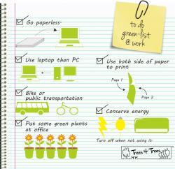 Green Tips at Work